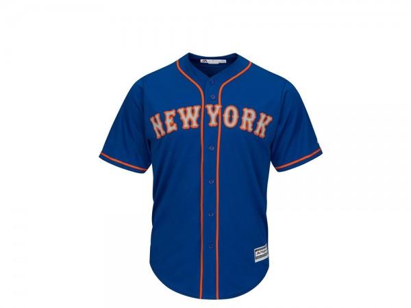 Majestic New York Mets Cool Base MLB Trikot blau