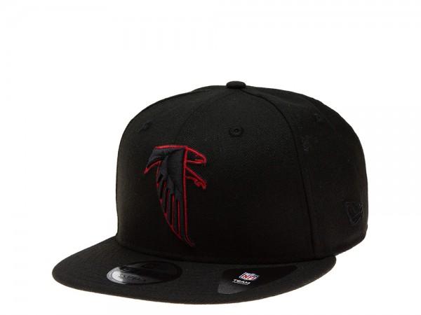 New Era Atlanta Falcons All About Black Edition 9Fifty Snapback Cap
