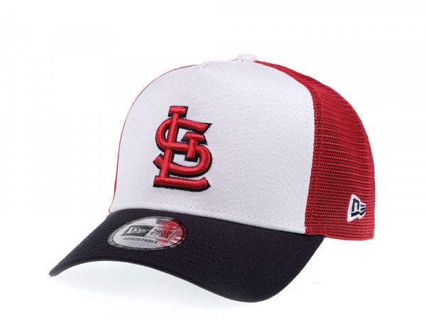 New Era St Louis Cardinals Trucker Snapback Cap