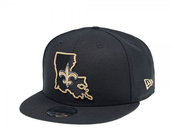 New Era New Orleans Saints State Edition 9Fifty Snapback Cap