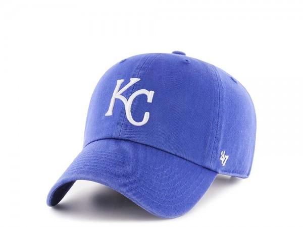 47Brand Kansas City Royals Clean Up Strapback Cap