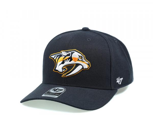47Brand Nashville Predators Cold Zone MVP DP Snapback Cap