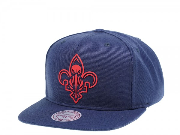 Mitchell & Ness New Orleans Pelicans Raised Snapback Cap