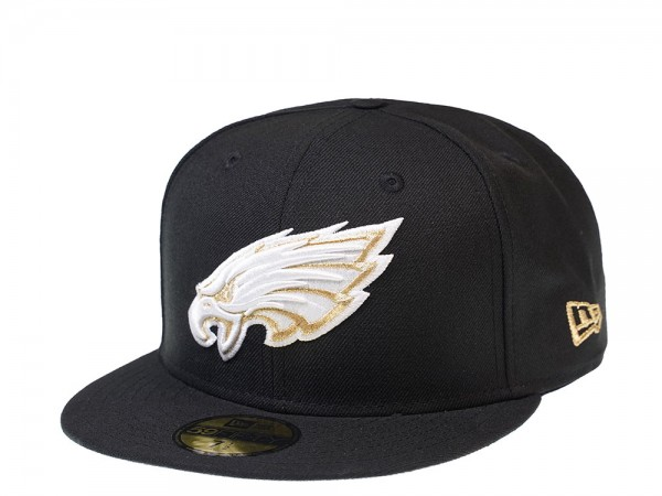 New Era Philadelphia Eagles Gold and White Edition 59Fifty Fitted Cap