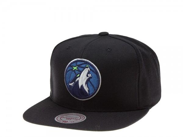 Mitchell & Ness Minnesota Timberwolves Classic Edition Snapback Cap
