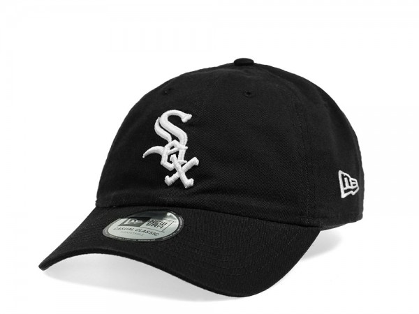 New Era Chicgo White Sox Casual Classic Black Strapback Cap