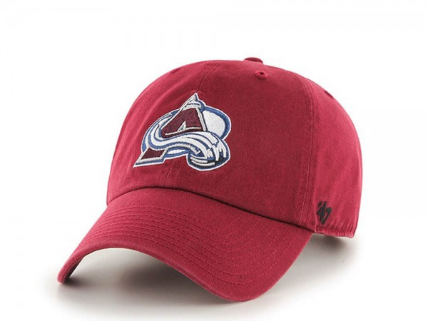 47brand Colorado Avalanche Clean up Strapback Cap