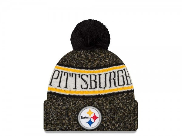 New Era Pittsburgh Steelers Sideline 2018 Mütze