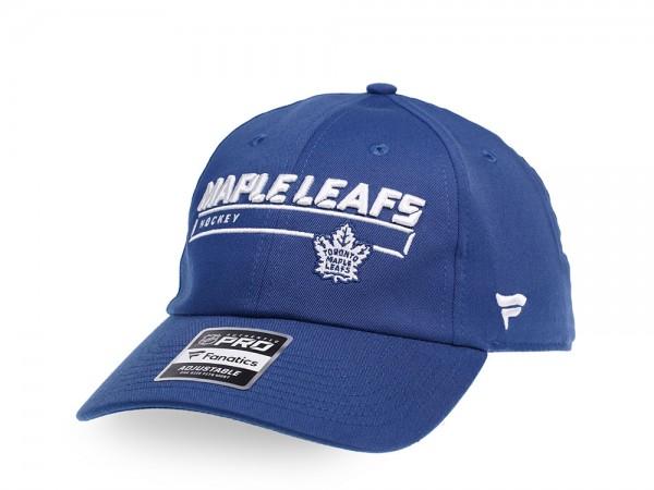 Fanatics Toronto Maple Leafs Authentic Pro Rinkside Adjustable Strapback Cap