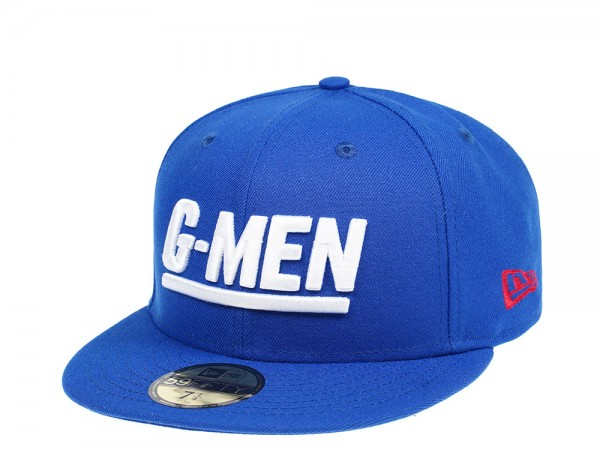 New Era New York Giants G-MEN Edition 59Fifty Fitted Cap