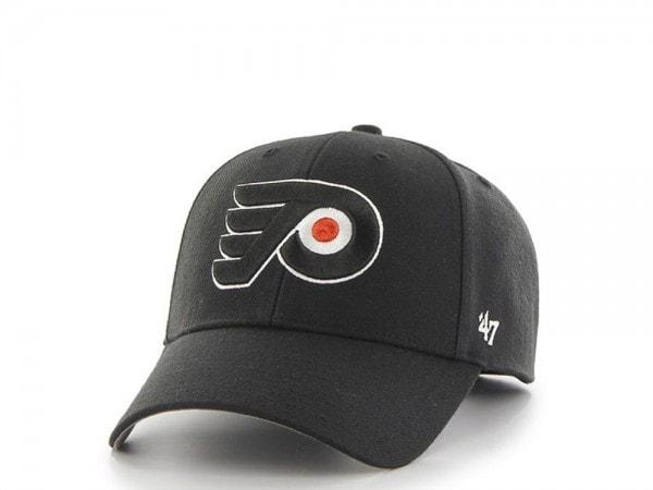 47brand Philadelphia Flyers MVP Curved Strapback Cap