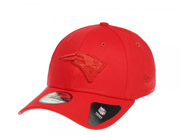 New Era New England Patriots Red on Red Stretch Fit 39Thirty Casquette