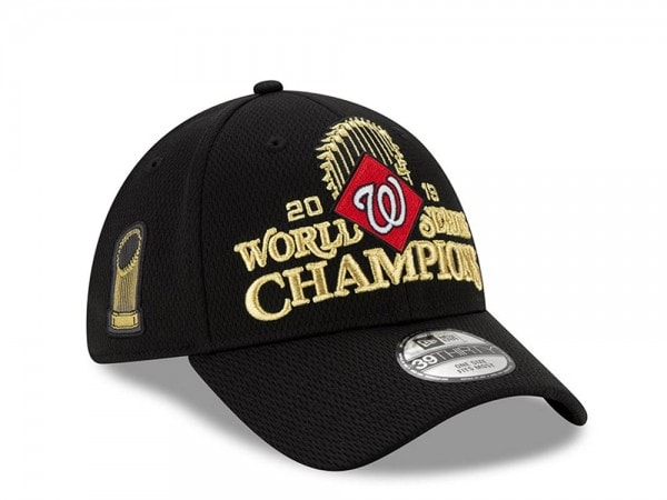 New Era Washington Nationals 2019 MLB Finals Champions 39THIRTY Stretch Fit Cap