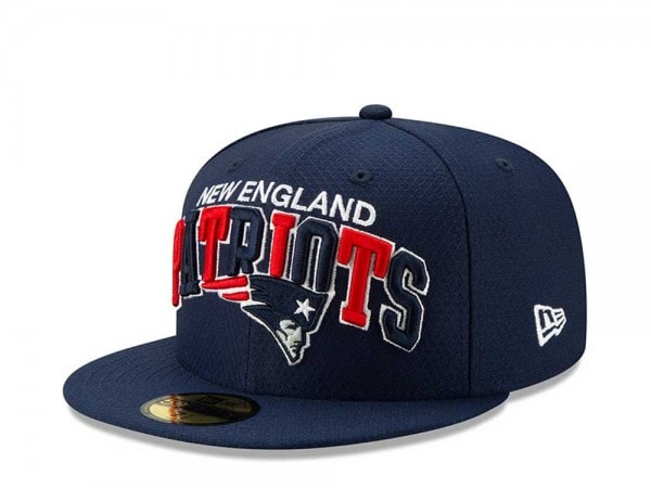 New Era New England Patriots Sideline Cap Home 59Fifty Fitted Cap