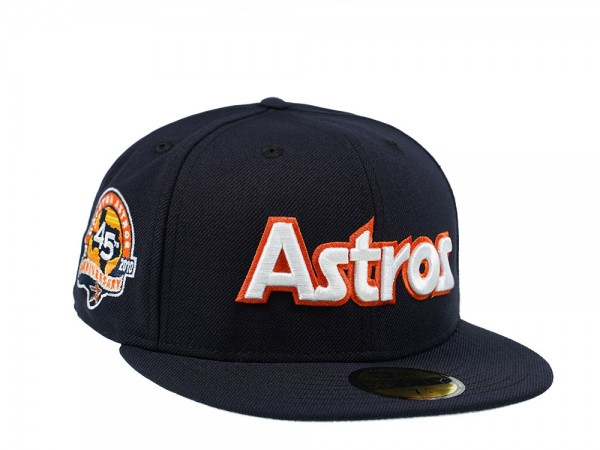 New Era Houston Astros 45th Anniversary Edition 59Fifty Fitted Cap