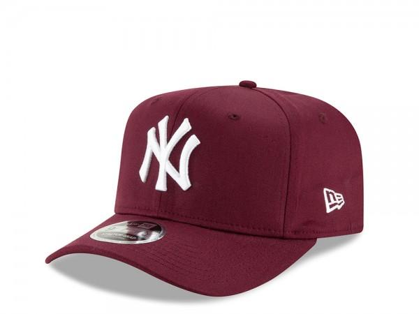 New Era New York Yankees Maroon 9Fifty Stretch Cap