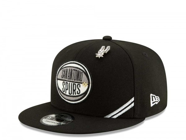 New Era San Antonio Spurs Draft 19 9Fifty Snapback Cap