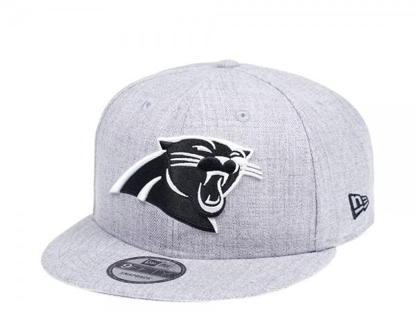 New Era Carolina Panthers Heather Grey Edition 9Fifty Snapback Cap