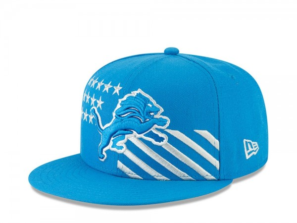 New Era Detroit Lions Draft 19 9Fifty Snapback Cap