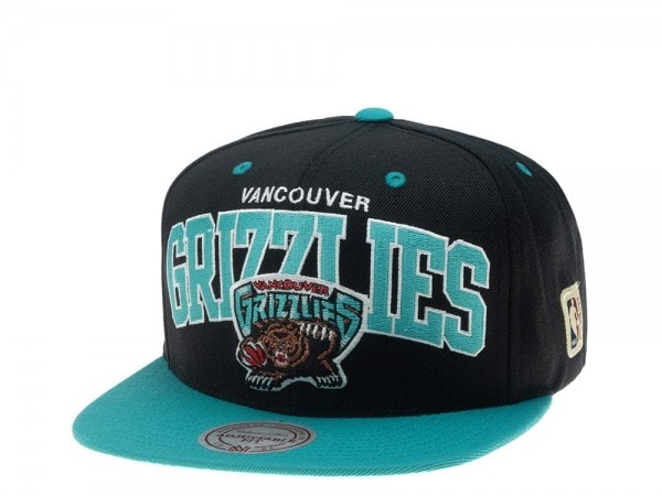 Mitchell & Ness Vancouver Grizzlies HWC Team Arch Snapback Cap