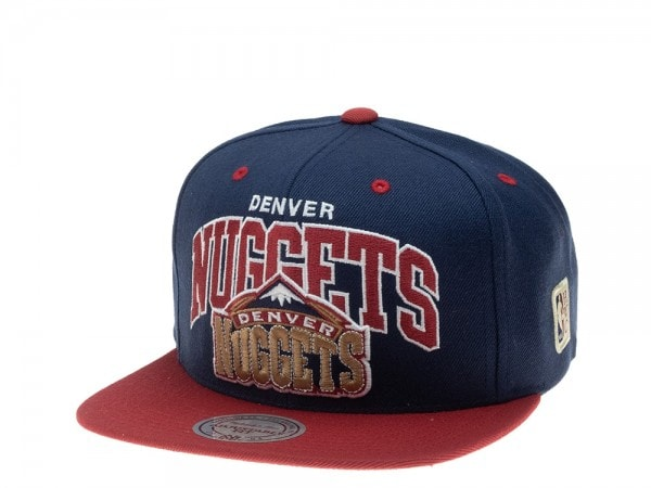 Mitchell & Ness Denver Nuggets HWC Team Arch Snapback Cap