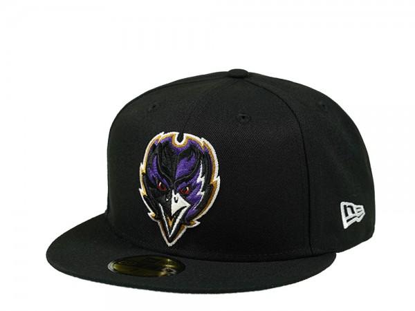 New Era Baltimore Ravens Alternate Logo 59Fifty Fitted Cap