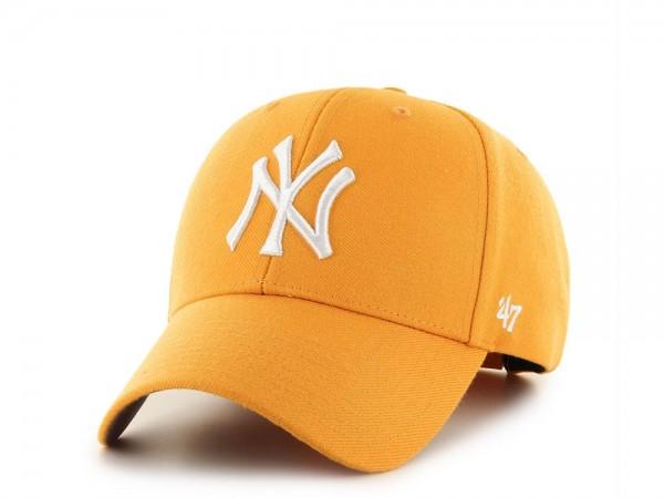 47Brand New York Yankees MVP Yellow Snapback Cap