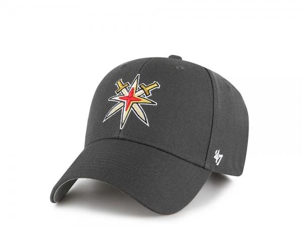 47Brand Vegas Golden Knights MVP Gray Strapback Cap