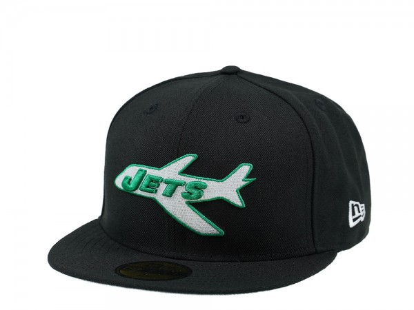 New Era New York Jets Black Edition 59Fifty Fitted Cap