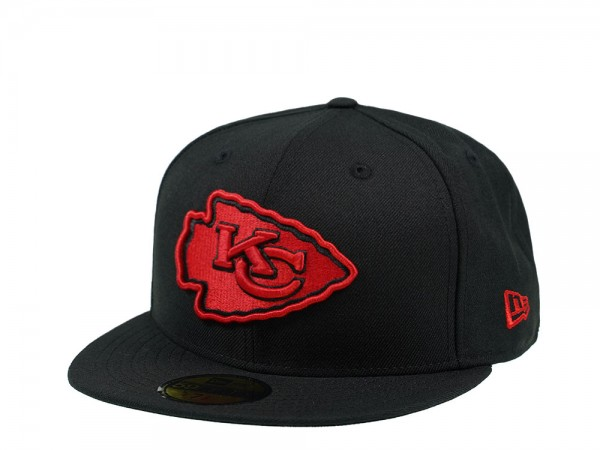 New Era Kansas City Chiefs Red Logo Edition 59Fifty Fitted Cap