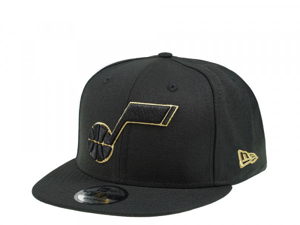 New Era Utah Jazz All about Black and Gold 9Fifty Snapback Cap