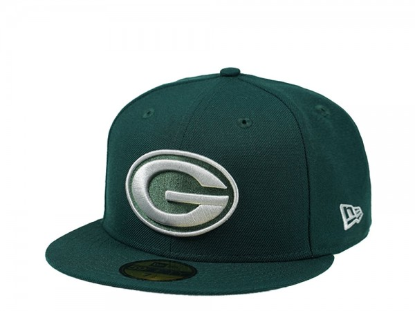 New Era Green Bay Packers Dark Green Edition 59Fifty Fitted Cap