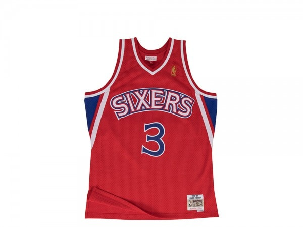 Mitchell & Ness Philadelphia 76ers - Allen Iverson Swingman 1996-97 Jersey