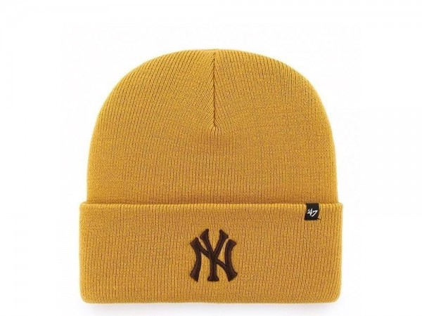 47 Brand New York Yankees Wheat Cuff Mütze