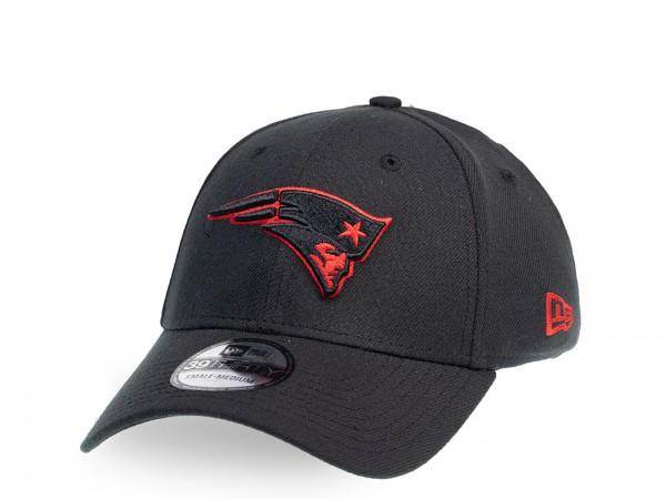 New Era New England Patriots Classic Black 39Thirty Stretch Cap