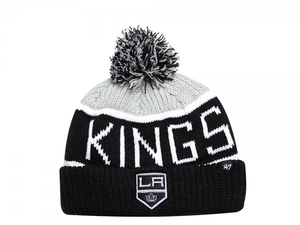 47 Brand Los Angeles Kings Cuff Knit Grey