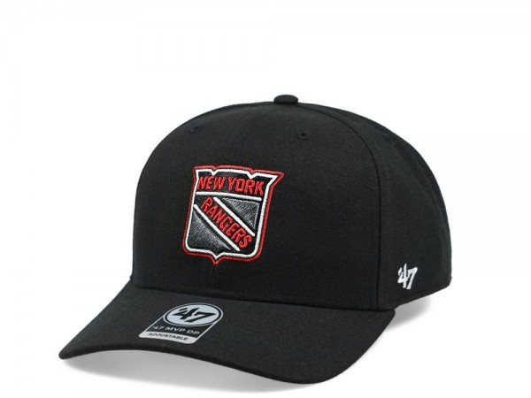 47brand New York Rangers Color Detail MVP DP Snapback Cap