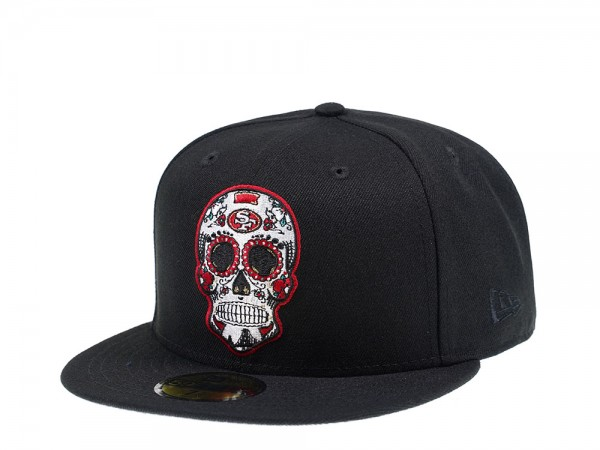 New Era San Francisco 49ers Skull Edition 59Fifty Fitted Cap