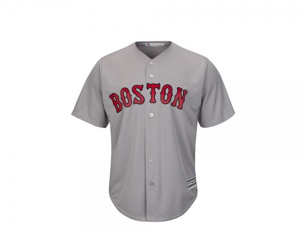 Majestic Boston Red Sox Cool Base MLB Trikot grau