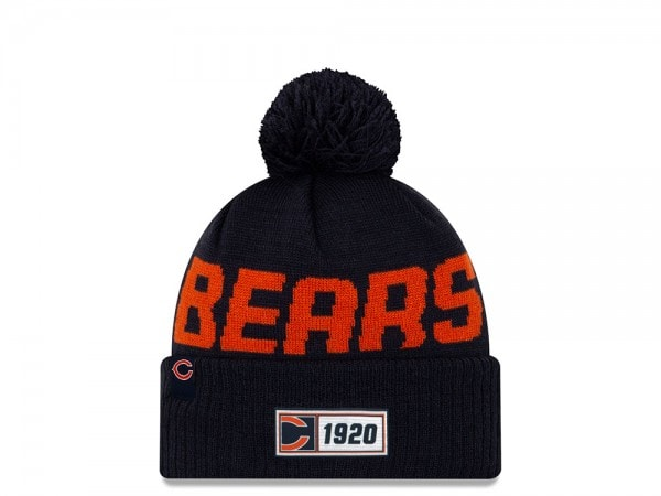 New Era Chicago Bears Sideline 2019 Road Mütze