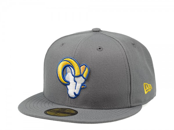 New Era Los Angeles Rams Storm Grey Edition 59Fifty Fitted Cap