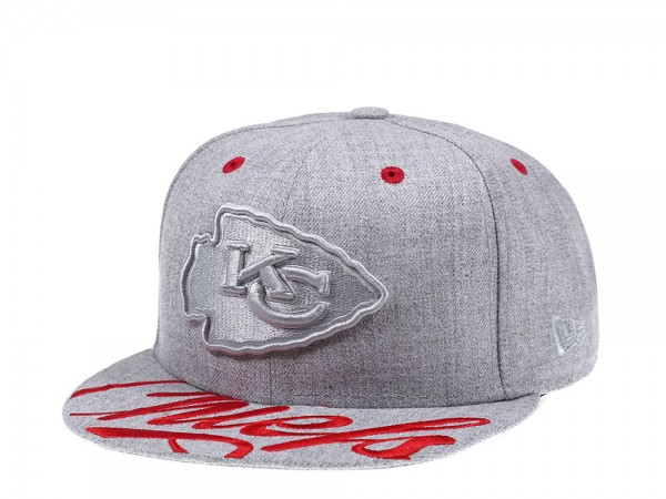 New Era Kansas City Chiefs Red Script Edition 59Fifty Fitted Cap