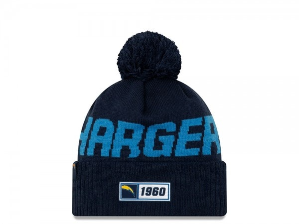 New Era Los Angeles Chargers Sideline 2019 Road Mütze