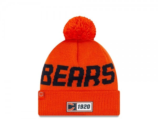 New Era Chicago Bears Sideline 2019 Road Reversible Color Mütze