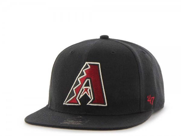 47Brand Arizona Diamondbacks Sure Shot Captain Snapback Cap