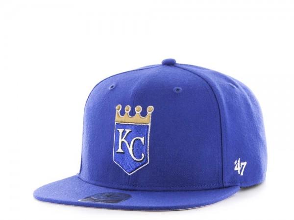 47Brand Kansas City Royals Sure Shot Captain Snapback Cap