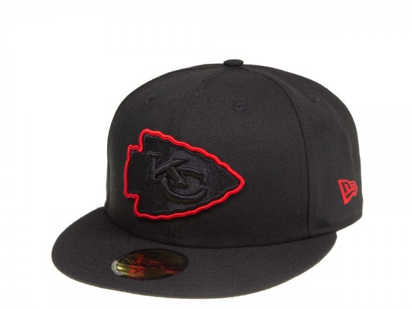 New Era Kansas City Chiefs Red Action 59Fifty Fitted Cap