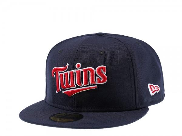 New Era Minnesota Twins Jersey Logo 59Fifty Fitted Cap
