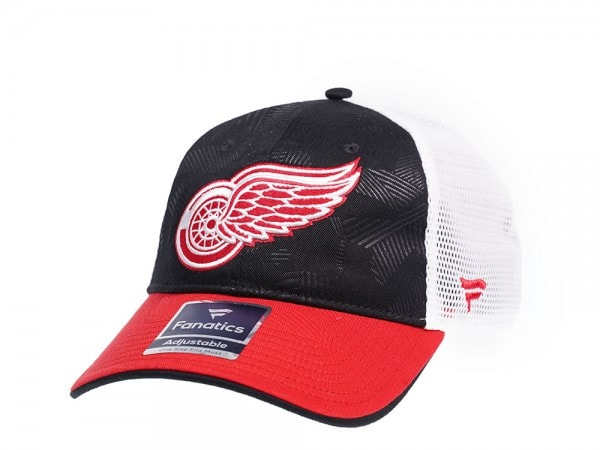 Fanatics Detroit Red Wings  Iconic Trucker Snapback Cap