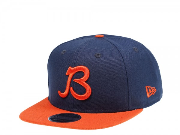 New Era Chicago Bears Original Fit B Logo 9Fifty Snapback Cap